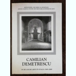 30 DE ANI DE ARTA IN ITALIA 1969 -2000 - CAMILIAN DEMETRESCU