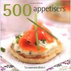 500 APPETISERS - SUSANNAH BLAKE  (CARTE IN LIMBA ENGLEZA)