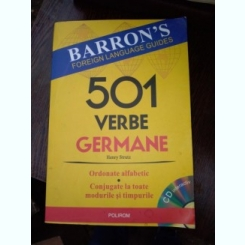 501 VERBE GERMANE CONJUGATE LA TOATE TIMPURILE - HENRY STRUTZ