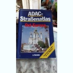 ADAC - STRAßENATLAS OST-EUROPA  (ATLAS CU HARTI  AUTO, EUROPA DE EST)