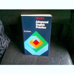 ADVANCED ENGLISH PRACTICE - B.D. GRAVER