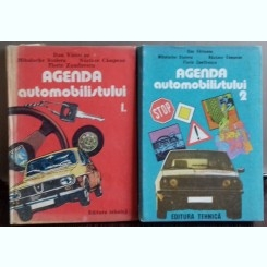 AGENDA AUTOMOBILISTULUI - DAN VAITEANU    2 VOLUME