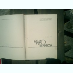 Agrofitotehnica - St. Dimancea