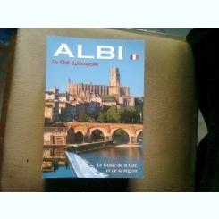 Albi , la cité épiscopale/ le guide de la cite et de sa region  (Albi, orasul episcopal, ghidul orasului si a regiunii)