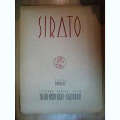 ALBUM SIRATO. TEXT DE PETRU COMARNESCU