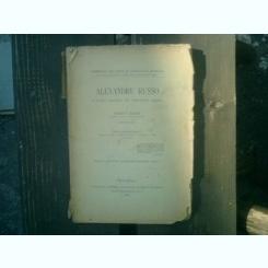 Alexandru Russo O pagina ignorata din literatura romana - Petru V. Hanes