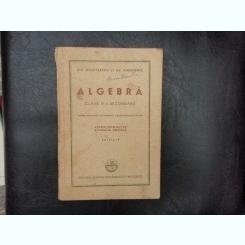 Algebra clasa V-a secundara - Gh. Dumitrescu si Al. Andronic