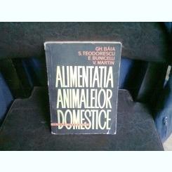 ALIMENTATIA ANIMALELOR DOMESTICE - GH. BAIA