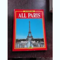 ALL PARIS - GIOVANNA MAGI GHID DE CALATORIE, TEXT IN LIMBA FRANCEZA