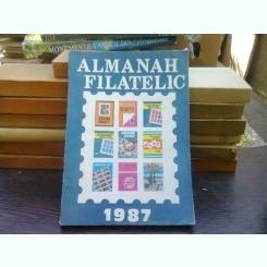 Almanah filatelic 1987