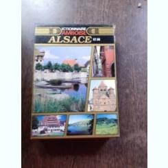 ALSACE, DICTIONNAIRE AMBOISE  (CARTE IN LIMBA FRANCEZA)