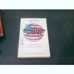 AMERIQUE MONDE - GUY MILLIERE  (CARTE IN LIMBA FRANCEZA)