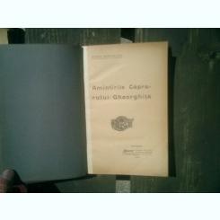 Amintirile capitanului Gheorghita - Mihail Sadoveanu