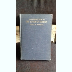 AN INTRODUCTION TO THE STUDY OF SOCIETY - FRANK H. HANKINS