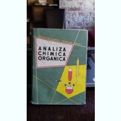 ANALIZA CHIMICA ORGANICA - FRANCISC ALBERT
