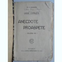 ANECDOTE PROASPETE - TH.D. SPERANTIA    VOL. VIII
