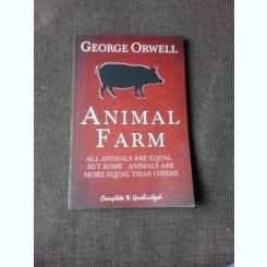 ANIMAL FARM - GEORGE ORWELL  (CARTE IN LIMBA ENGLEZA)