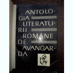 ANTOLOGIA LITERATURII ROMANE DE AVANGARDA  -  SASA PANA