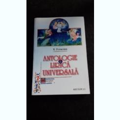 ANTOLOGIE DE LIRICA UNIVERSALA - N. PORSENNA