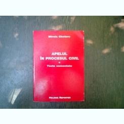 Apelul in procesul civil - Mirela Chelaru