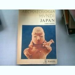 ARCHAEOLOGIA MUNDI. JAPAN - VADIME ELISSEEFF  (ARHEOLOGIA IN LUME. JAPONIA)