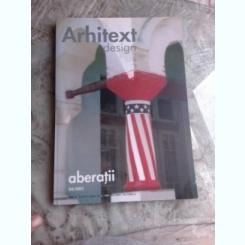 ARHITEXT DESIGN NR.4/2002, ABERATII