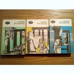 ARTA ORATORICA * 3 Volume - Quintilian - Editura Minerva, 1974
