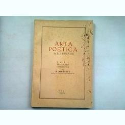 ARTA POETICA A LUI OVIDIU - H. MIHAESCU