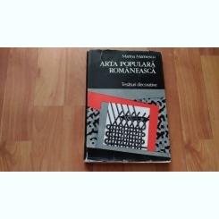 ARTA POPULARA ROMANEASCA-MARIANA MARINESCU