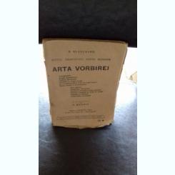 ARTA VORBIREI - B.Blanchard