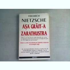 ASA GRAIT-A ZARATHUSTRA - NIETZSCHE