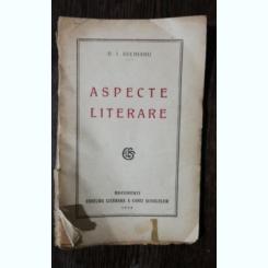 ASPECTE LITERARE - D.I.SUCHIANU