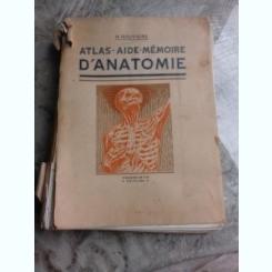 ATLAS AIDE MEMOIRE D'ANATOMIE - H. ROUVIERE
