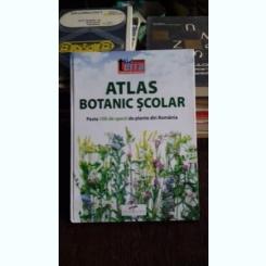 ATLAS BOTANIC SCOLAR - peste 100 specii de plante din Romania