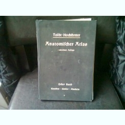 ATLAS DE ANATOMIE - TOLDT HOCHSTETTER