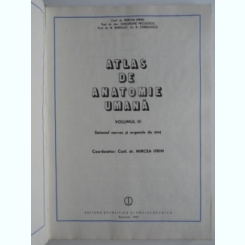 ATLAS DE ANATOMIE UMANA - MIRCEA IFRIM - (VOL 3)