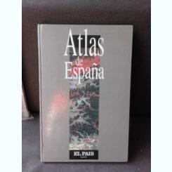 ATLAS DE ESPANA  (ATLAS SPANIA, TEXT IN LIMBA SPANIOLA)