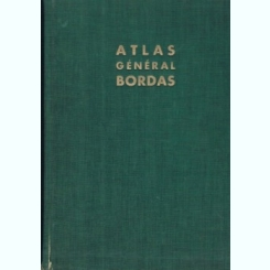 ATLAS GENERAL BORDAS - PIERRE SERRYN  (LA FRANCE - LE MONDE)
