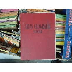 Atlas geografic scolar , N. Gheorghiu , 1957