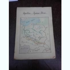Caiet de geografie anii 50,Atlas Republica Populara Polona, Republica cehoslovaca, Marea Britanie