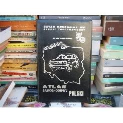 Atlas Samochodowy Polski - atlas turistic polonez , Sztab Generalny WP