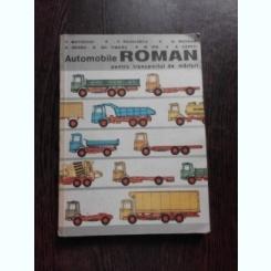 Automobile Roman pentru transportul de marfuri - V. Mateevici