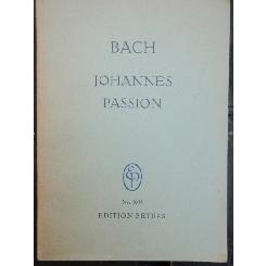 BACH - JOHANNES, PASSION
