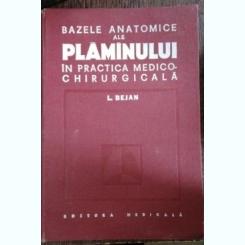 BAZELE ANATOMICE ALE PLAMANULUI - L.BEJAN