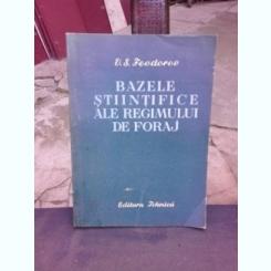 BAZELE STIINTIFICE ALE REGIMULUI DE FORAJ - V.S. FEODOROV