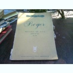 Beyer - Metoda de pian pentru cei mici Op. 101