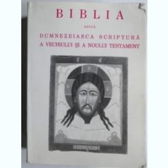 Biblia adica Dumnezeiasca Scriptura a Vechiului si Noului Testament