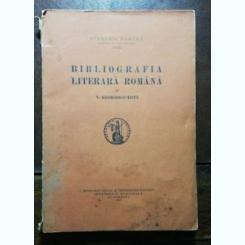 BIBLIOGRAFIA LITERARA ROMANA - N. GEORGESCU TISTU