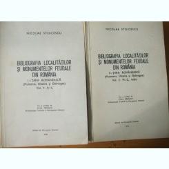 Bibliografia localitatilor si monumentelor feudale din Romania N. Stoicescu