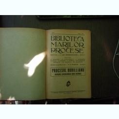 Biblioteca marilor procese vol XII 1931 si Martie 1924 nr.3 - I. Gr. Perieteanu